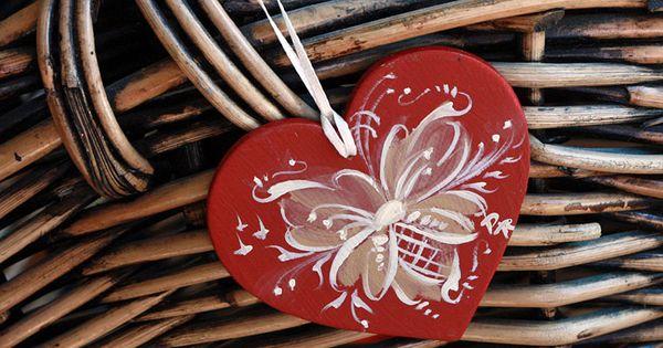 Telemark Style Rosemaled Ornament