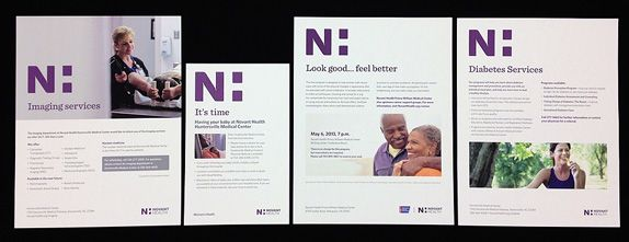 Brand New Idden H Health Logo Identity Logo Corporate Design