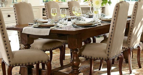 Casual dining room ideas pottery barn vacation home for Casual dining room ideas pinterest