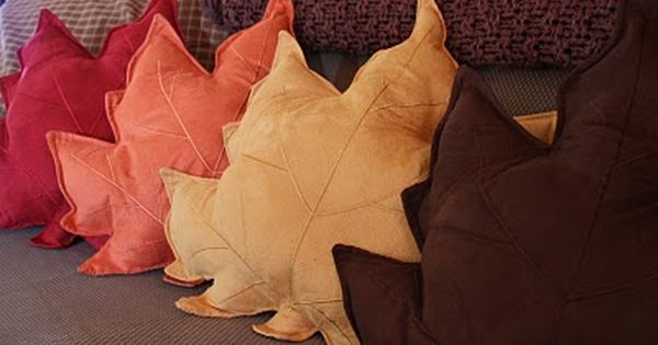 cute idea...you could do different placemat pillows for each season. Fall pillows