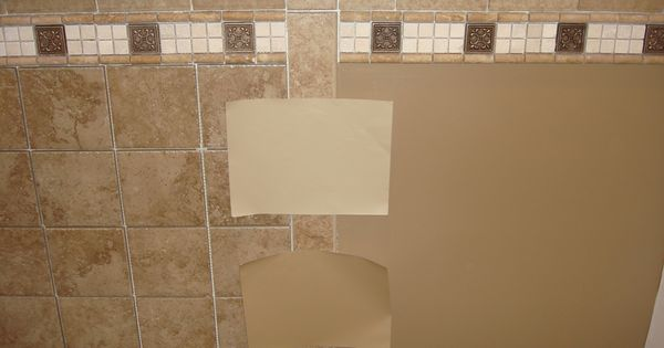 Bathrooms With Tan And Brown Colors Captivating Brown Mosaic Ceramic Wall