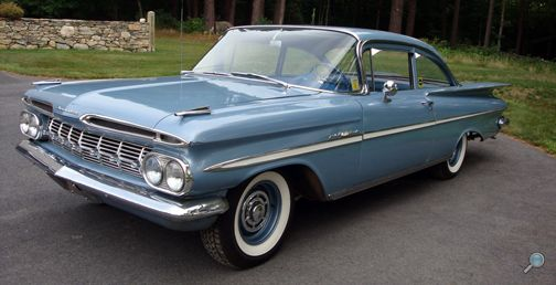 1959 Chevrolet Bel Air 2 Door Sedan Classic Cars Chevy Chevy Sedan Cars