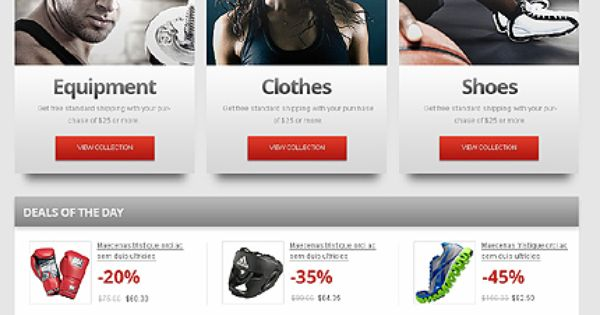 Fight That Crazy Shadow Max Sport Store Een Template