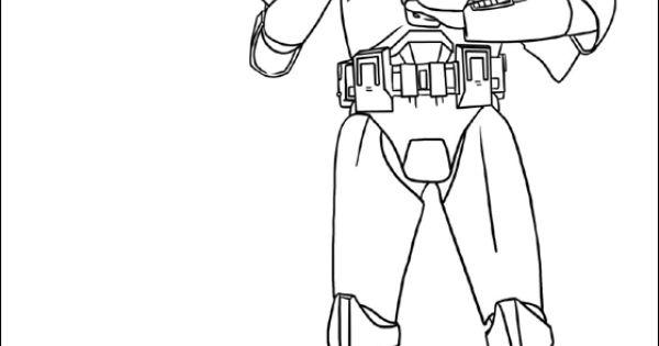 Dibujos Para Colorear Star Wars Guerra Clones: Dibujo Star Wars Clone Troopers Para Colorear