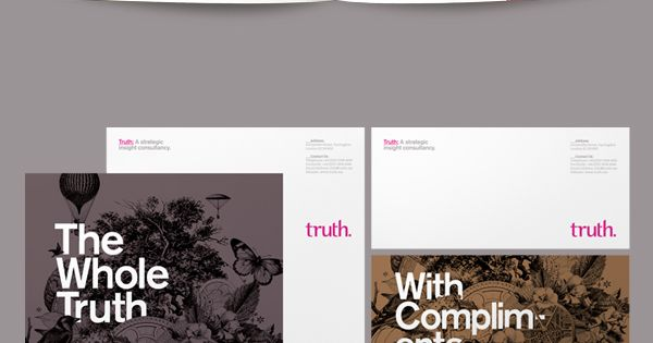 Truth Branding by Socio Design , via Behance stationary corporate design corporatedesign