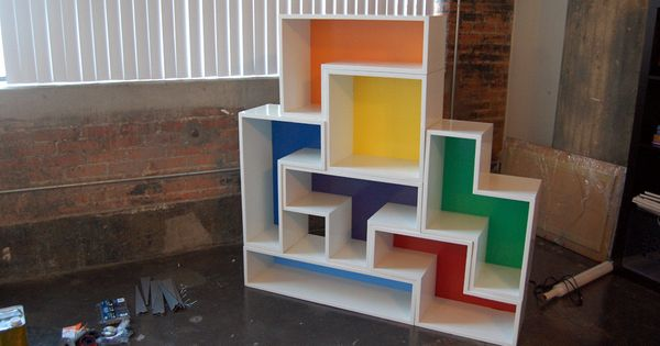 Tetris shelves Shelving and Hands