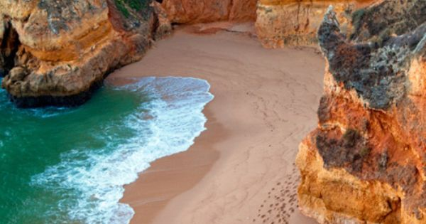 Dona Ana Beach, Algarve, Portugal : portugal Travel beach wanderlust : travel