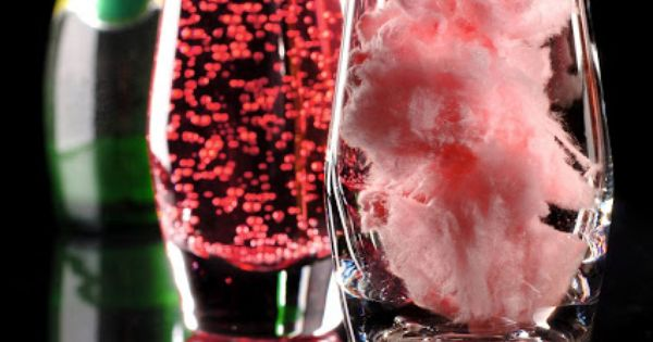 Magical Disappearing Drink (Cotton Candy Lava Drink - Add wine for an