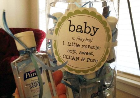 How to throw a baby shower on a budget! - party favor
