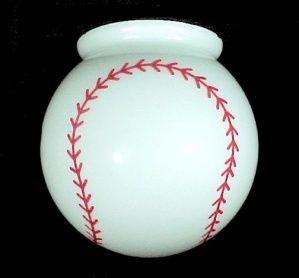 Baseball 6 Ball Globe Light Shade Perfect For Child S