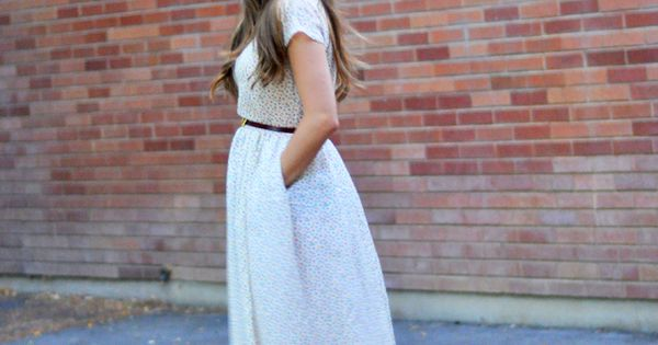 DIY: maxi dress (with pockets)