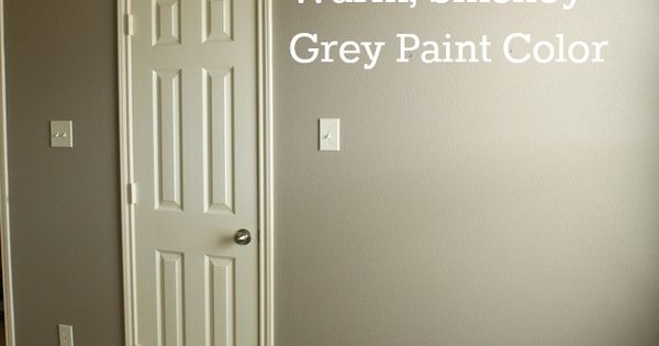 Mushroom - warm gray paint master bedroom??