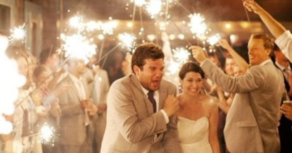 Sparklers, sparklers and more sparklers! Great shot!!