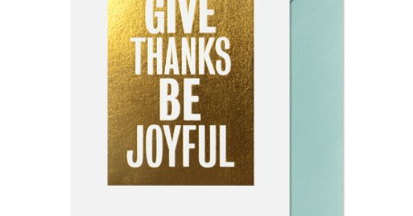 Give Thanks - Card Inspiration