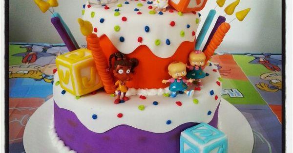 Rugrats Cake!! Www.cakesbykimberly.biz
