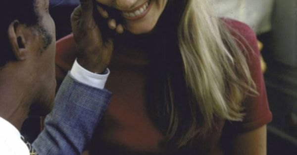 Peggy Lipton's beautiful laugh
