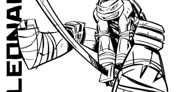 tmnt coloring pages on pinterest - photo#6