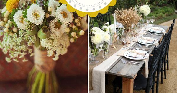 rustic weddings | Rural & Rustic Fall Wedding Inspiration - WeddingWire: The