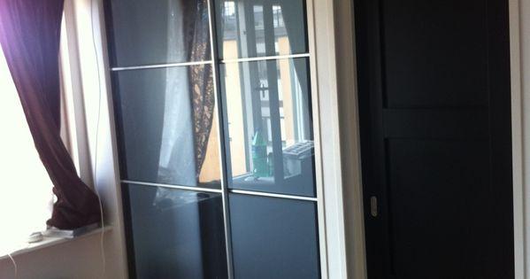 Ikea hackers ikea sliding door for sleeping alcove tight - Doors for tight spaces ...