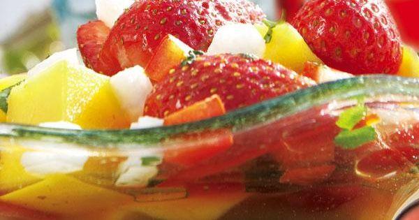 Strawberry salads, Strawberries and Salads on Pinterest