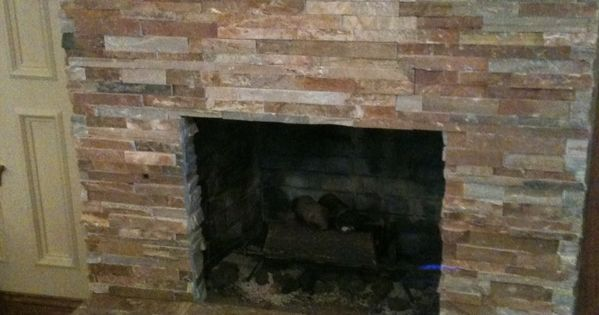 tile over brick fireplace remodel den remodel craftsman to modern pinterest brick. Black Bedroom Furniture Sets. Home Design Ideas