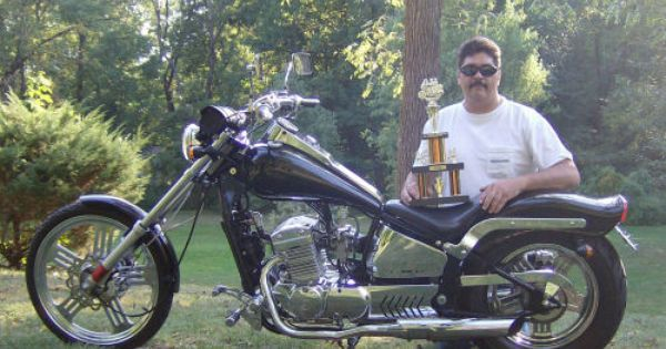 Men On Motorcycles Picture Of A 2008 Johnny Pag Spyder 300 Motorcycle Pictures Motorcycle Women Spyder