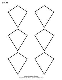 Free Kite Templates With Images Jewelry Template Diy Leather