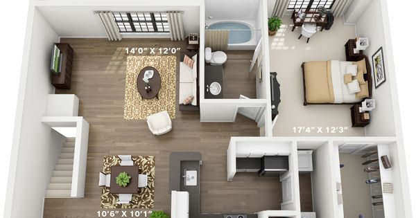 1 2 3 And 4 Bedroom Apartments In North Richland Hills Tx Northrichlandhills Texa Apartment Decorating Rental Small House Remodel Apartment Floor Plans