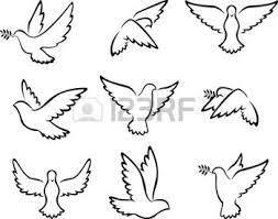 Resultado De Imagen Para Tortas Confirmacion Imagenes Flower Art Bird Sketch Dove Bird