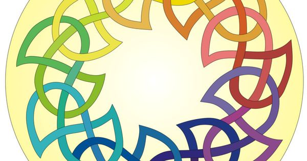 Celtic knot ring | Scrollsaw patterns | Pinterest | Knot ...