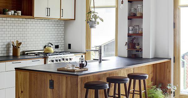 Winston ely greenpoint kitchen kitchengood greenpoint for Brownstone kitchen ideas