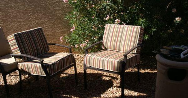 Customer Photo Custom Deep Seating Chair Cushions Made
