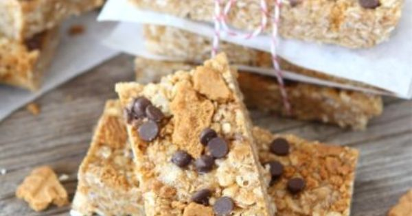 No-bake Biscoff granola bars - Eat Your Books is an ...