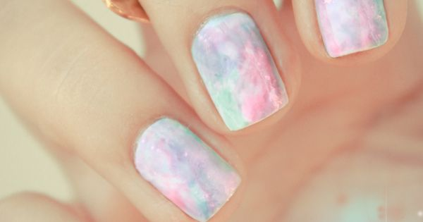 Opal Nails polish, from my favourite french nail art blog, Pshiiit