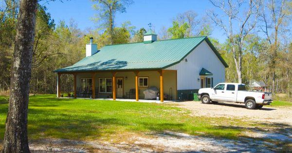 Ken sharon 39 s home morton buildings 4015 for Morton building cabin