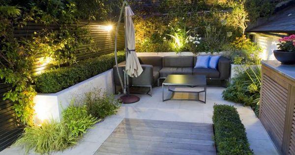 25 id es pour am nager et d corer un petit jardin - Idees terrasses exterieures ...