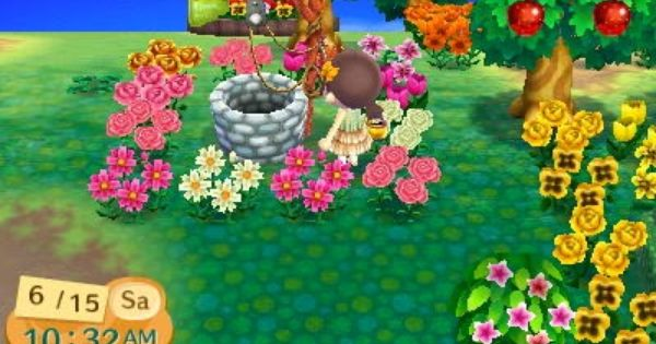 animal crossing new leaf all hybrid flowers
