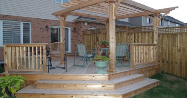 Dreaming of decks outdoor goodness pinterest for Garden decking examples