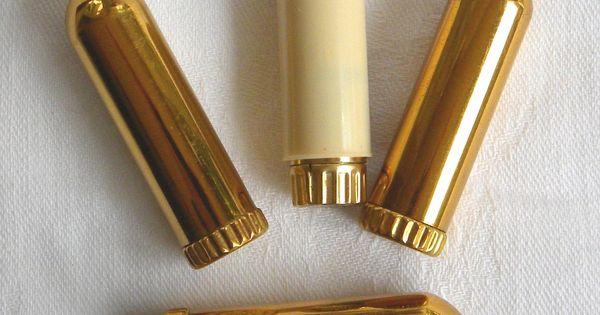 Detail Vintage Revlon Lipstick Tubes Holders