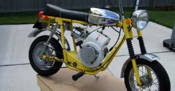 This I Think Is A Fox Mini Bike Mini Bike Bike Go Kart