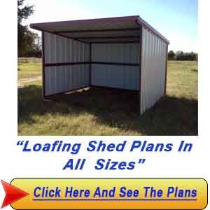 Loafing Shed Plans Outdoors Such Loafing Shed Horse