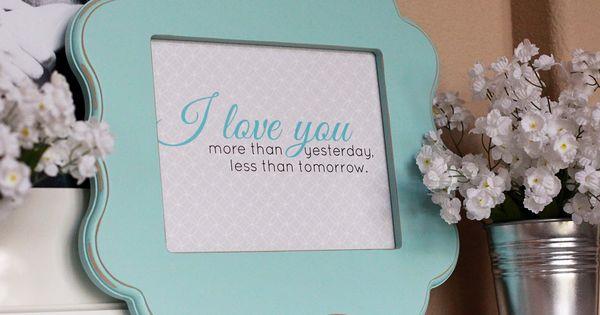 Bridal gifts.