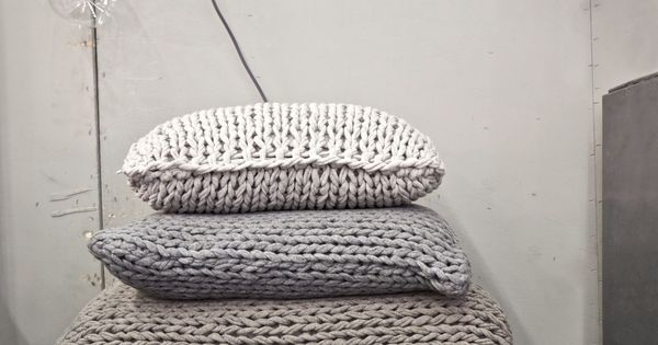 Floor Pillows Big Lots : mikmax stand at Maison & Objet Paris 2014 by INTSIGHT - Make some big floor cushions for Summer ...