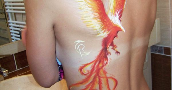 Phoenix Bird Tattoo Designs | phoenix Tattoos For Girls5