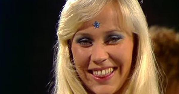 Agnetha Faltskog Abba 1974