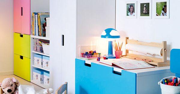 Almacenaje ninos ikea 2 habitacion pol pinterest - Ikea ninos almacenaje ...