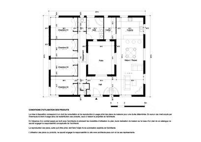 Telecharger Plan Maison 130 Plan 1 100e Avec Mesure Plan