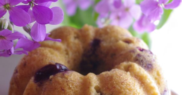 Banana Blueberry Bundt Cakes   Blueberry Bundt Cake, Bundt Cakes and ...