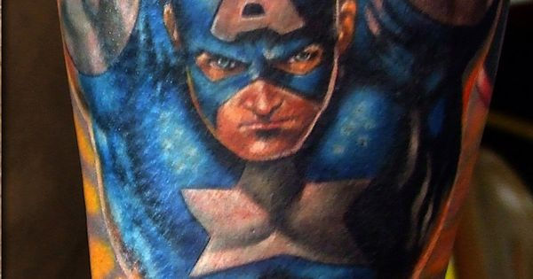 Superhero Tattoos (Pt1) | Inked Magazine