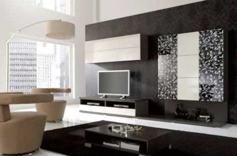 Decora o de salas com sof s modernos mesas de jantar - Sofas modernos fotos ...